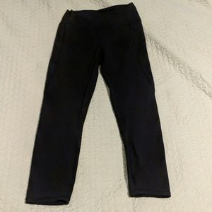 "Lululemon In Movement Crop 23"" Black 8 Everlux"